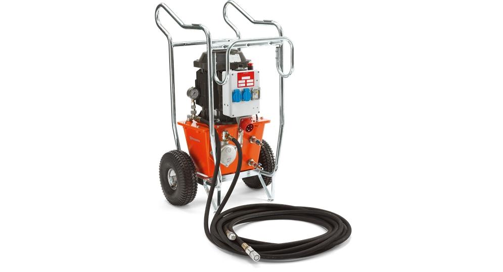 Elektrický agregát pro hydraulické výrobky Husqvarna PP 325 E