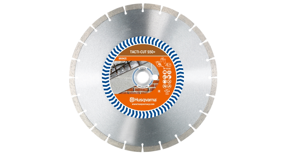 Diamantový kotouč Husqvarna Tacti - Cut S 50 Plus 300 mm