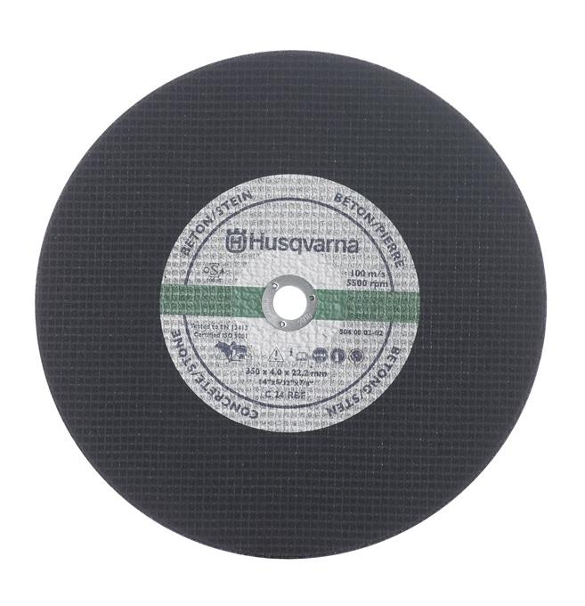 Abrasivní kotouč Husqvarna na železniční kolejnice 350 / 25,4 mm