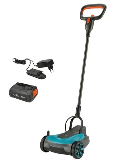 Akumulátorová sekačka HandyMower Gardena 22/18V P4A - sada k okamžitému použití