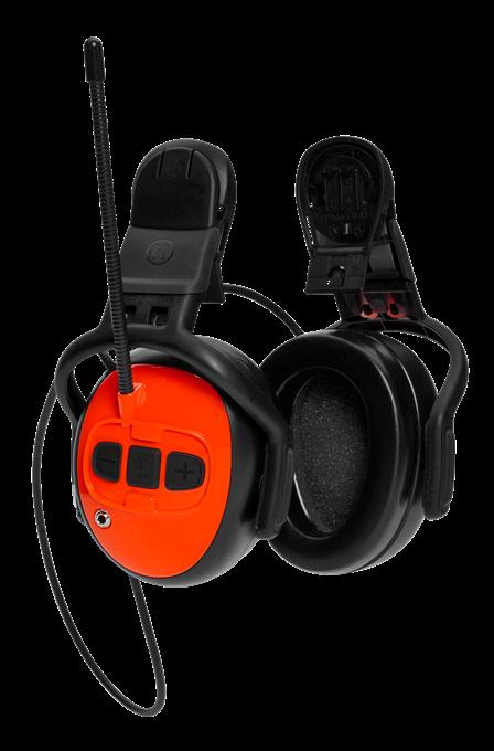 Chrániče sluchu Husqvarna s FM rádiem - pro ochrannou přilbu