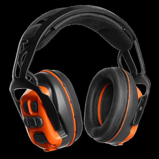 Chrániče sluchu Husqvarna s náhlavním obloukem X-COM R