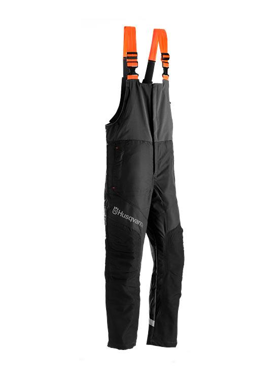Kalhoty protipořezové s laclem Husqvarna Functional - velikost 50