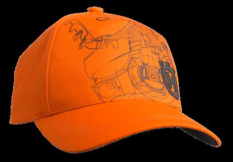 Kšiltovka Husqvarna Pioneer oranžová Xplorer