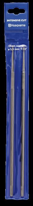 Kulatý pilník Husqvarna Intesive Cut na broušení řetězu průměr 4,0mm 3ks