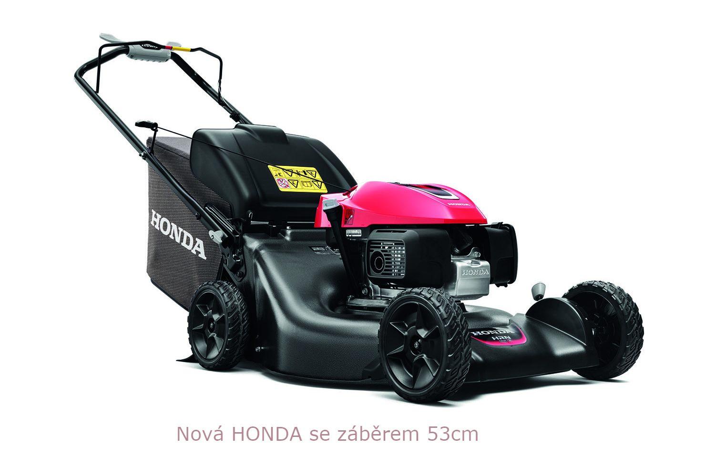 Motorová sekačka na trávu Honda HRG 536 VY