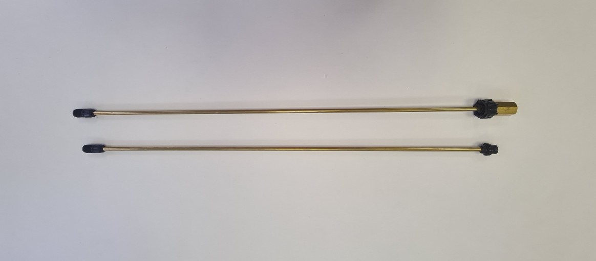 Postřiková trubka Solo 150 cm - mosazná