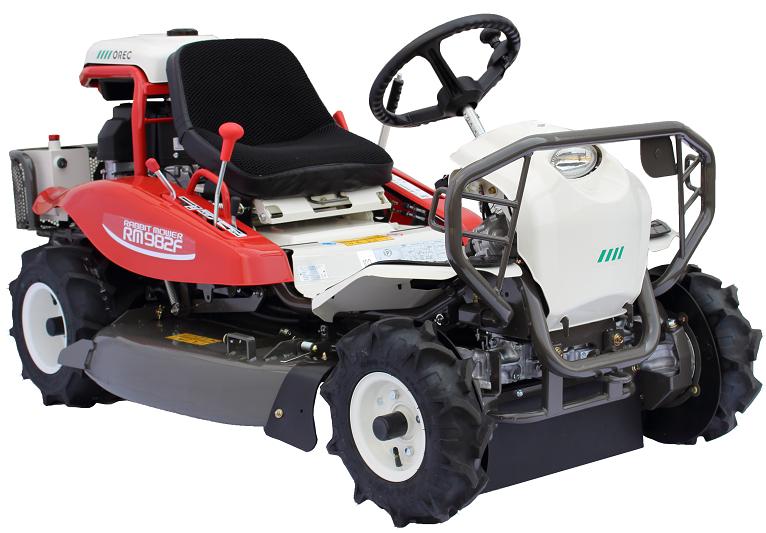 Profesionální samojízdný rotační mulčovač Orec RM 980 F 4WD