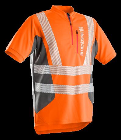 Reflexní pracovní triko s krátkým rukávem Husqvarna Technical - velikost 46