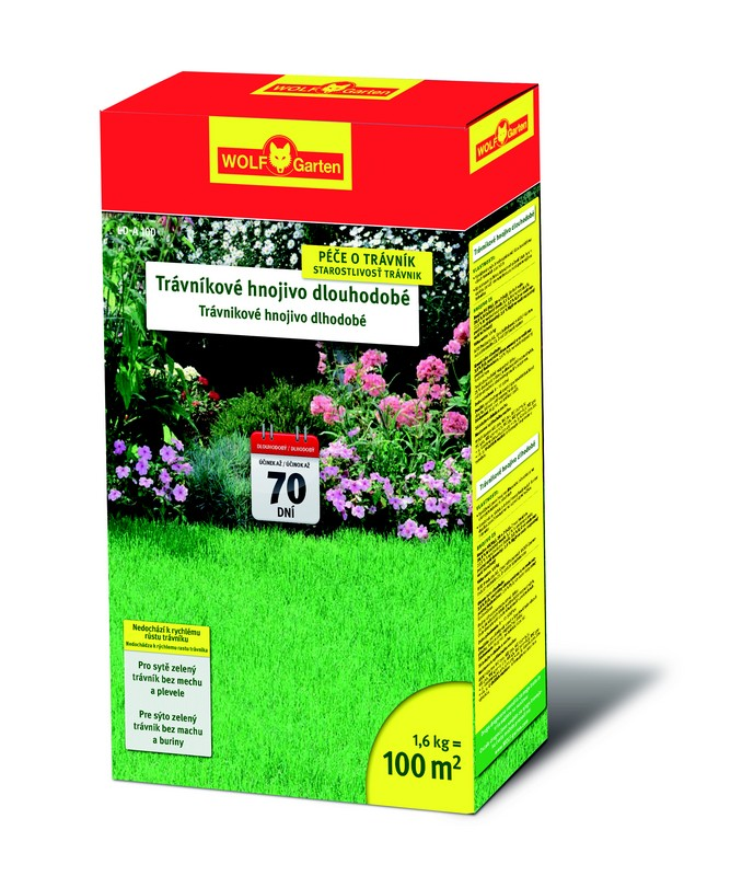 Trávníkové hnojivo dlouhodobé LD-A 300 WOLF-Garten