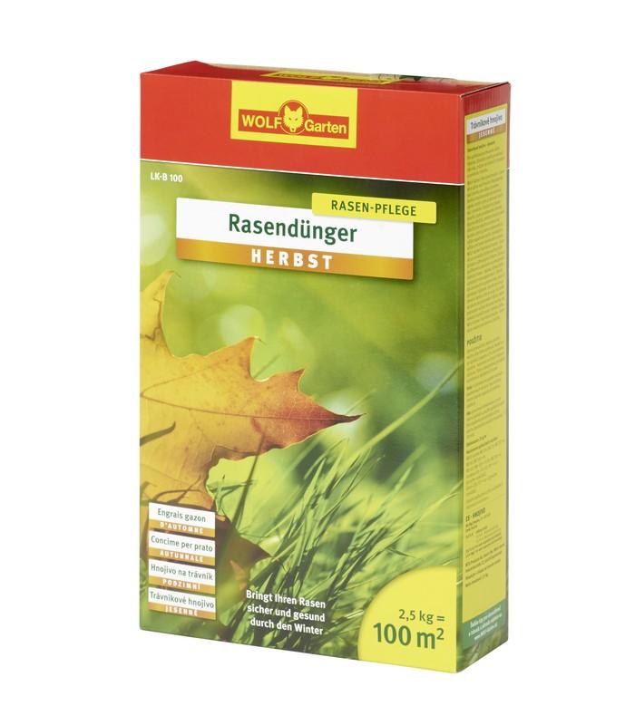 Trávníkové hnojivo podzimní LK-MU 400 WOLF-Garten
