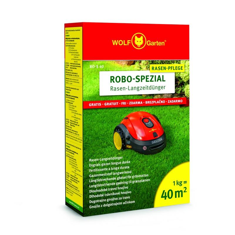 Trávníkové hnojivo pro robotické sekačky RO-S 40 WOLF-Garten