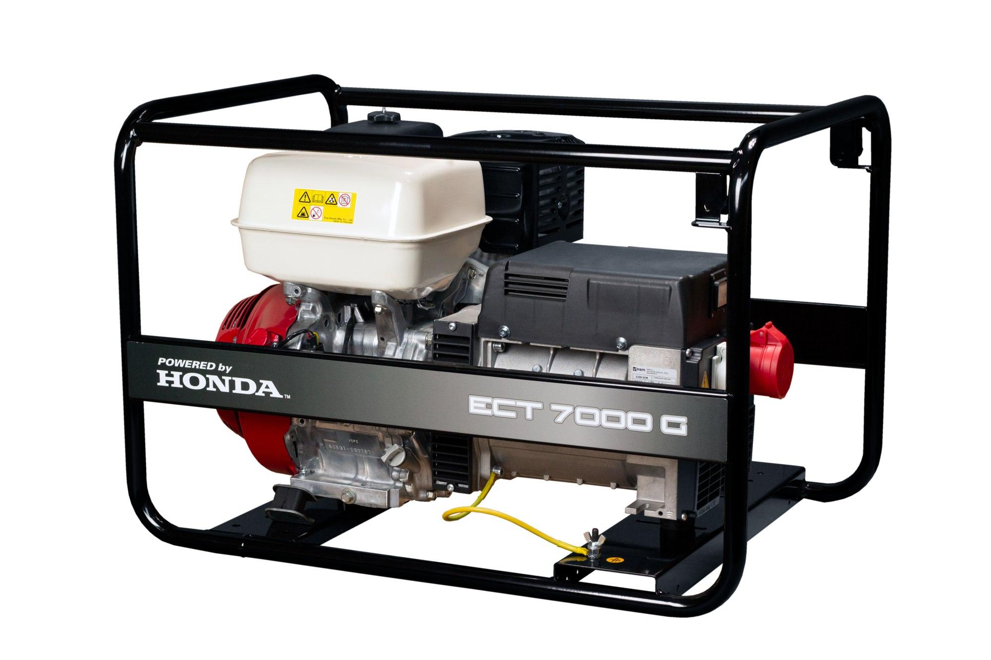 Třífázová elektrocentrála Honda ECT 7000G AVR