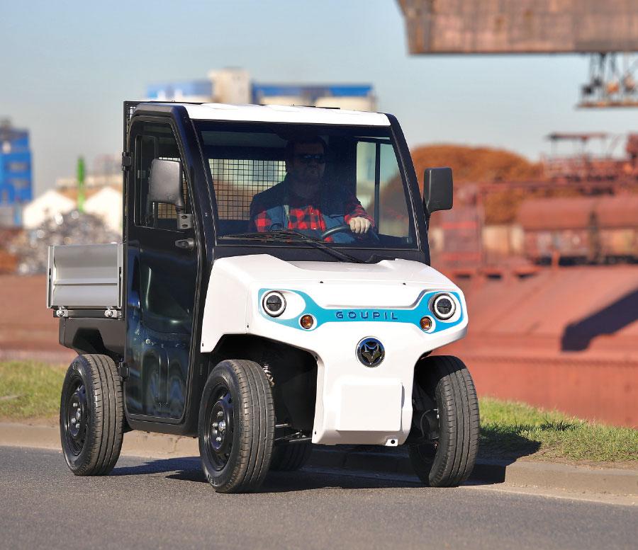 Užitkový elektromobil GOUPIL G2