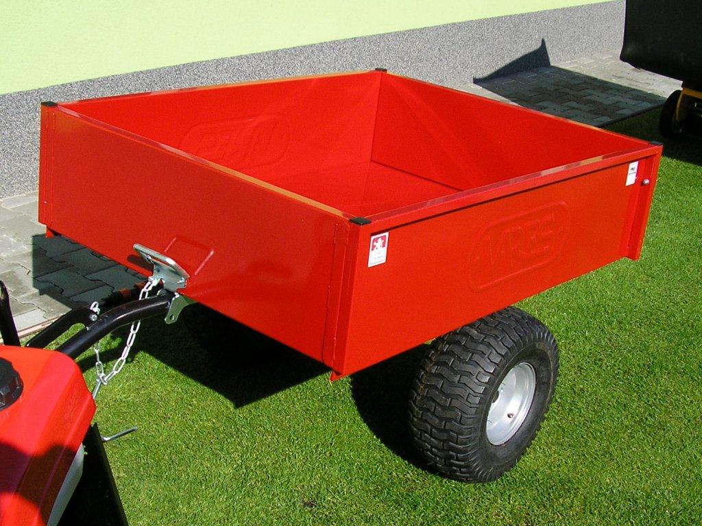 Vozík pro zahradní traktory VARES TR 220S