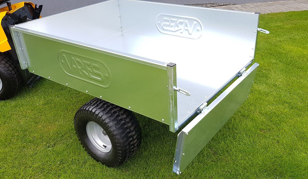 Vozík pro zahradní traktory VARES TR220S - POZINK