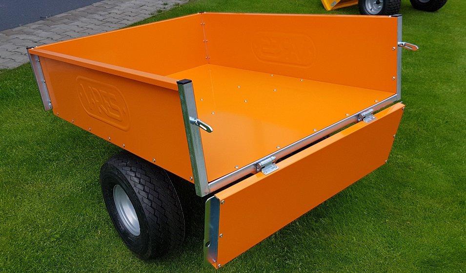 Vozík pro zahradní traktory VARES TRVMS - POZINK PLUS+
