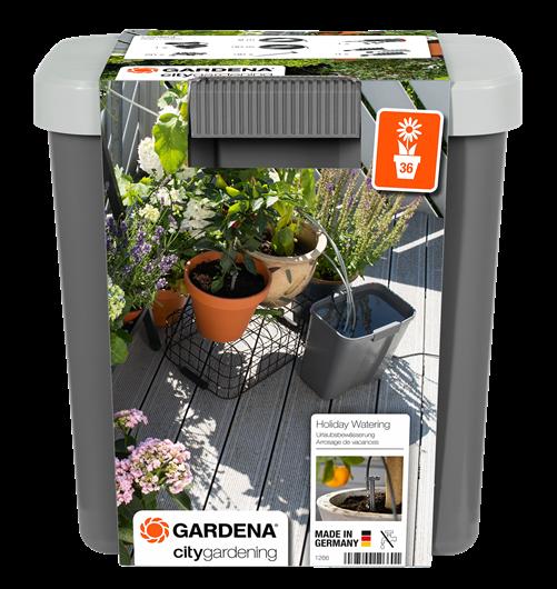 Zavlažování o dovolené se zásobníkem na vodu Gardena