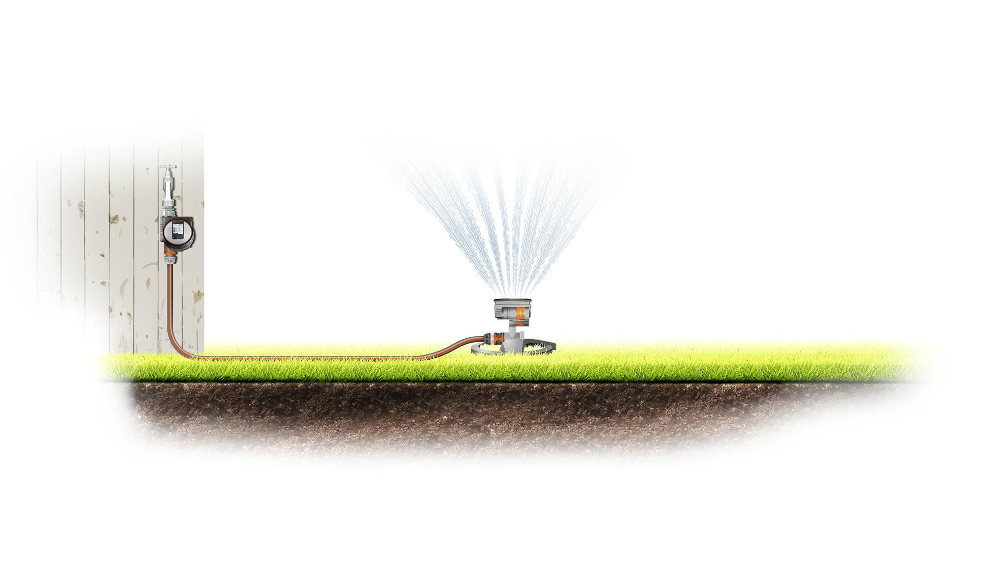 Nadzemní řízení zavlažování