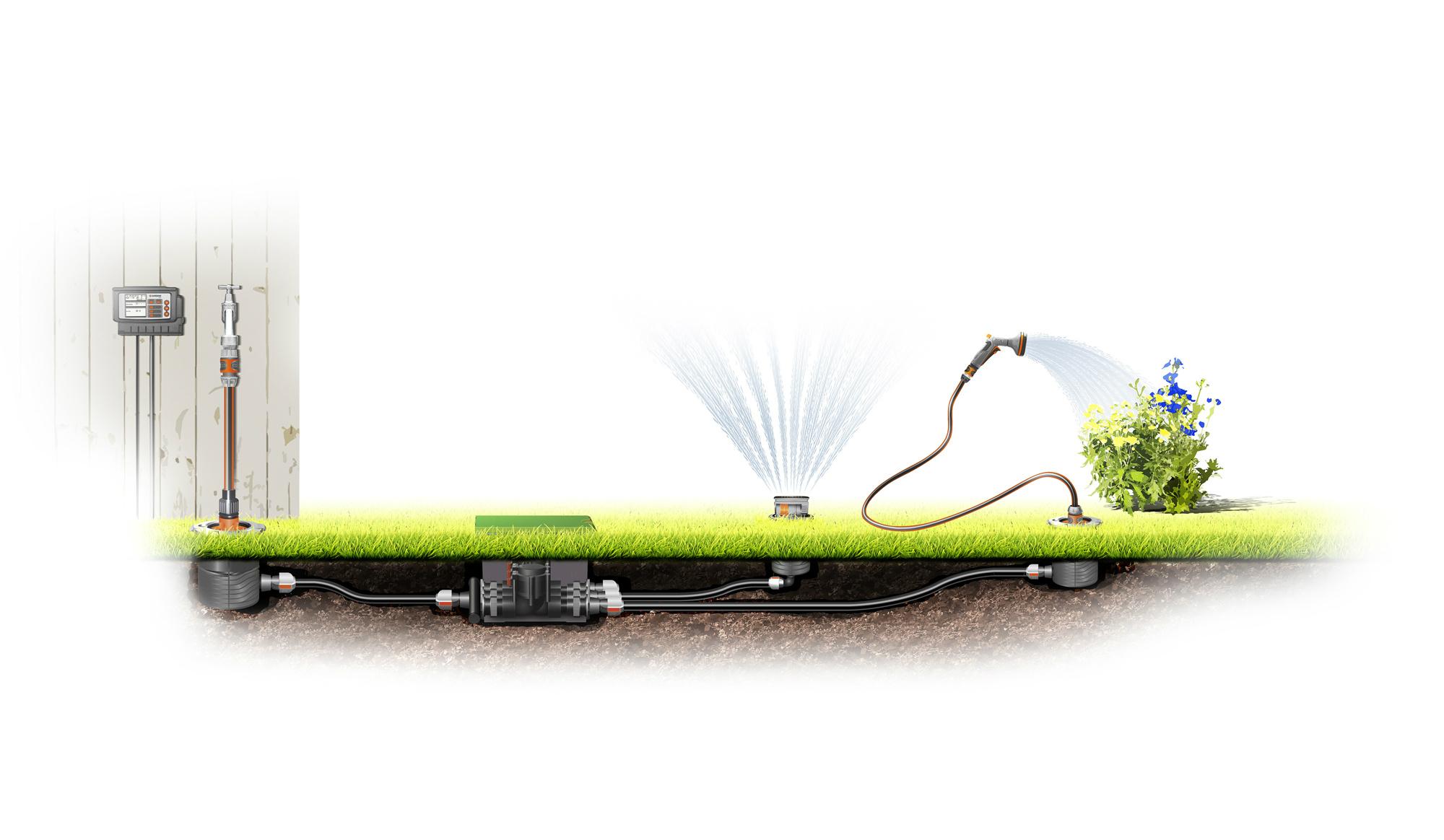 Podzemní vícekanálový řídící systém