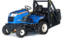 Traktory a sekačky Iseki